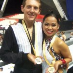 Robelen Bajar at the 2010 Australian Dancesport Championships