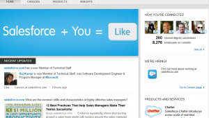 New Linkedin features for company pages